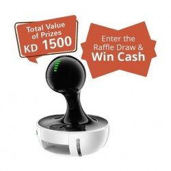 Dolce Gusto Nescafe Drop Automatic - White + Raffle Draw Coupon