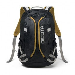 Dicota Active Backpack for 14-15.6 inch Laptop - Black/Yellow 1