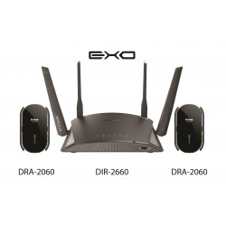 D-Link EXO AC2600 Smart Mesh Wi-Fi Router - Black