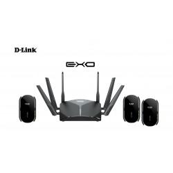 D-Link EXO AC3000 Smart Mesh Wi-Fi Router - Black