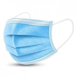 protection mask single use disposable blue buy in xcite kuwait