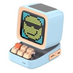 Divoom Ditoo Pixel Art Blue Wireless Speaker in Kuwait   Buy Online – Xcite