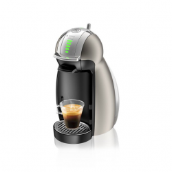 Dolce Gusto Nescafe Genio2 Coffee Maker (Combo2x68Gxa) - Titanium