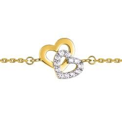 Fontenay Ladies Bracelet - Brass - Gold Plated  (DSB354Z18E) in Kuwait | Xcite Alghanim