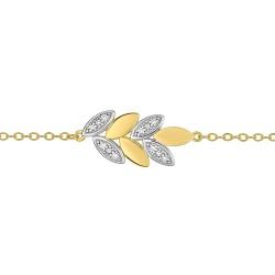 Fontenay Ladies Bracelet - Brass - Gold Plated  (DSB357Z18E) in Kuwait | Xcite Alghanim
