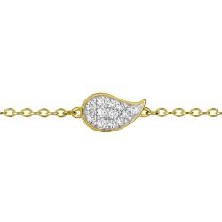 Fontenay Ladies Bracelet - Brass - Gold Plated  (DSB368Z18E) in Kuwait   Xcite Alghanim