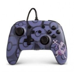 PowerA Nintedo Switch Wired Controller - Pokémon Mewtwo