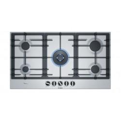 Bosch BI 90CM Gas Hob (PCR9A5B90M) - Stainless Steel