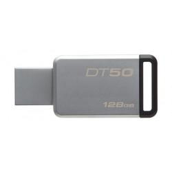Kingston 128GB Datatraveler DT50 Flash Drive - Black