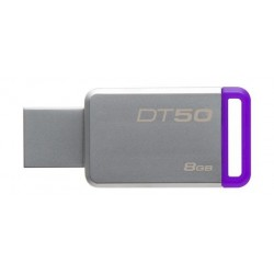 Kingston 8GB Datatraveler DT50 Flash Drive - Purple