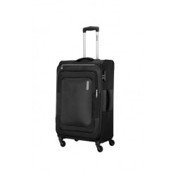 American Tourister Duncan 81CM Spinner Soft Luggage (FL8X09903) - Black