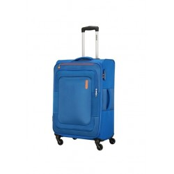 American Tourister Duncan 68CM Spinner Soft Luggage (FL8X01902) - Blue