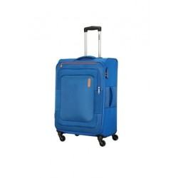 American Tourister Duncan 55CM Spinner Soft Luggage (FL8X01901) - Blue
