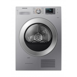 Samsung DV80H4000CS/NQ Front Load Condenser Dryer 8kg - Silver