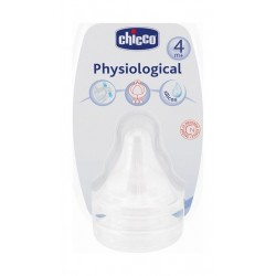 Chicco Silicon Physiological Teat 3 Holes – 2 PCS