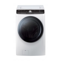 Daewoo 15W/8D Kg 1200 RPM Front Loading Washer/Dryer (DWC-AD1212) – White