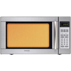 Daewoo Grill Microwave  (KOG-185H) 50 Litres - Steel