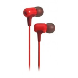 JBL E15 In-Ear Wired Headphones with Mic - Red