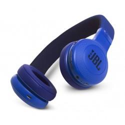 JBL E55BT Bluetooth Over-Ear Wireless Headphones - Blue