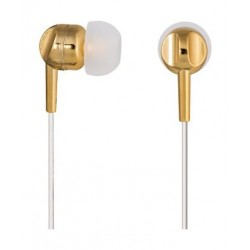 Thomson In-Ear Earphones with Microphone (EAR3005GD) – Gold