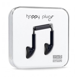 Happy Plugs Earbud Earphones – Black