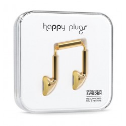Happy Plugs Earbud Earphones – Gold