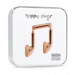 Happy Plugs Earbud Earphones – Rose