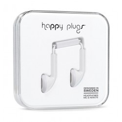 Happy Plugs Earbud Earphones – White