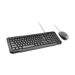 Promate EasyKey-3 Wired Keyboard - Black