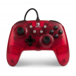 Enhanced Wired Controller for Nintendo Switch - Frost Series Red