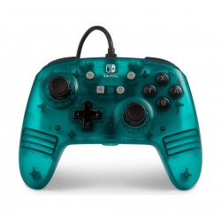 Enhanced Wired Controller for Nintendo Switch - Frost Series Teal