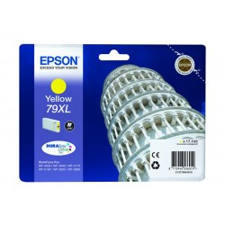 Epson Durabrite Ink 79XL For Inkjet Printing 800 Page Yield - Yellow (Single Pack)