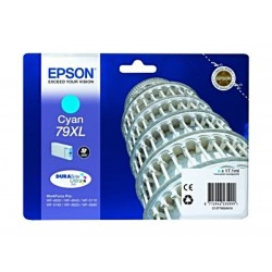 Epson Durabrite Ink 79XL For Inkjet Printing 800 Page Yield - Cyan (Single Pack)