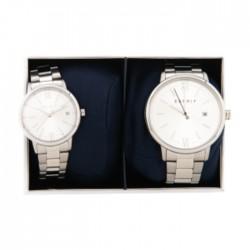 Esprit Kaye Pair Quartz Analog 32/42mm Unisex Watch ES1P181M0025 in Kuwait | Buy Online – Xcite