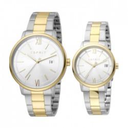 Esprit Kaye Pair Quartz Analog 32/42mm Unisex Watch ES1P181M0035 in Kuwait | Buy Online – Xcite