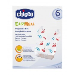 Chicco Easy Meal Disposable Bibs For Babies – 40 PCS (CHCN-000038)