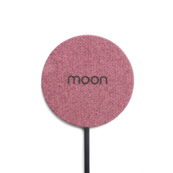 Moon Waterproof Charging Pad - Pink Fabric