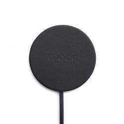Moon Waterproof Charging Pad - Black Leather
