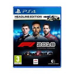 F1 2018 Headline Edition: PlayStation 4 Game