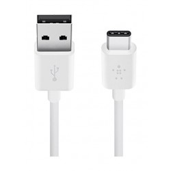 Belkin 3.1 USB-A to USB-C Cable 1.8 Meter (F2CU032bt06) - White
