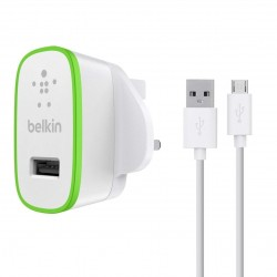 Belkin Universal Home Charger with Micro USB Cable - White