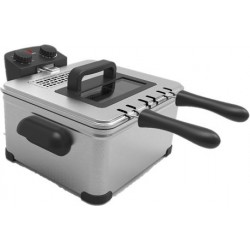 Frigidaire Deep Fryer with Double Frying Pots - 2000W 4L (FDDF-1002)