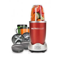 NutriBullet Blender 12 Pieces Set - 600W (NBR-1212R) - Red