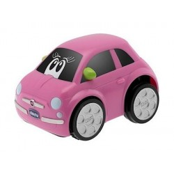Chicco Turbo Touch Fiat 500 Car Baby Toy (071T) - Pink