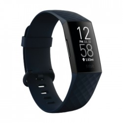 Pre-Order: Fitbit Charge 4 NFC Fitness Tracker - Black online at the best price in Kuwait. Shop Online and get new fitbit with free shipping from Xcite Kuwait.