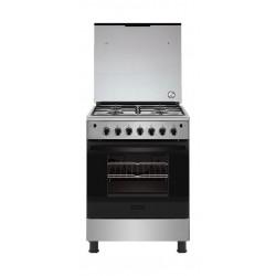 Frigidaire 60X60cm 4 Burner Gas Cooker (FNGJ60JGUC) - Stainless Steel