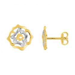 Fontenay Ladies Earrings - Brass - Gold Plated  (DSW370Z) in Kuwait | Xcite Alghanim