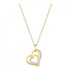 Fontenay Ladies Necklace - Brass - Gold Plated  (DSC371Z45E) in Kuwait | Xcite Alghanim