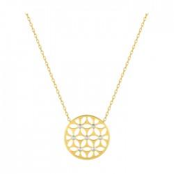 Fontenay Ladies Necklace - Brass - Gold Plated  (DSC359Z40E) in Kuwait | Xcite Alghanim