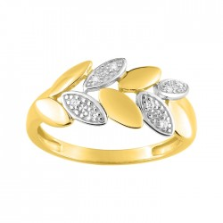 Fontenay Ladies Ring - Brass - Gold Plated  (DSR357Z-54) in Kuwait   Xcite Alghanim